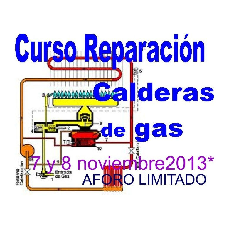 Curso reparacion calceras de gas cgas001 for Clases de termostatos