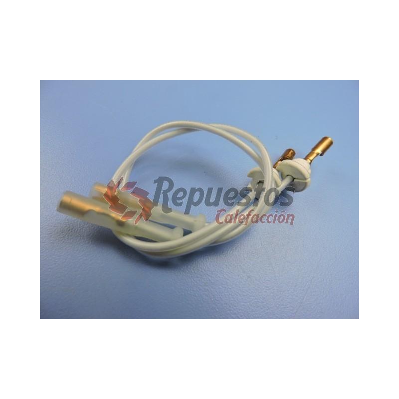 Repuestos quemador roca cables de electrodos crono for Repuestos inodoros roca