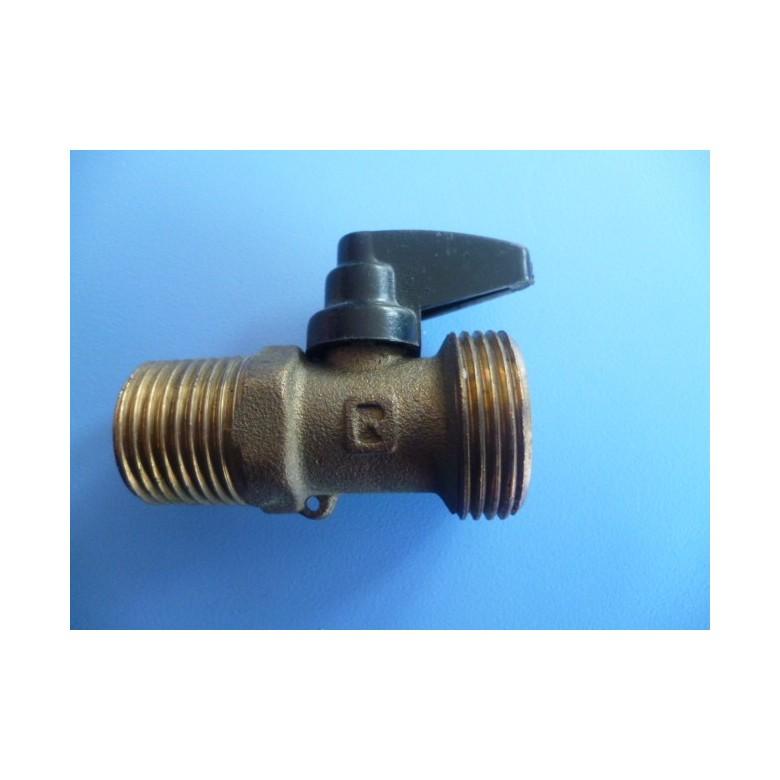 V lvula llave de vaciado m m 1 2 3 4 for Llave de paso de agua