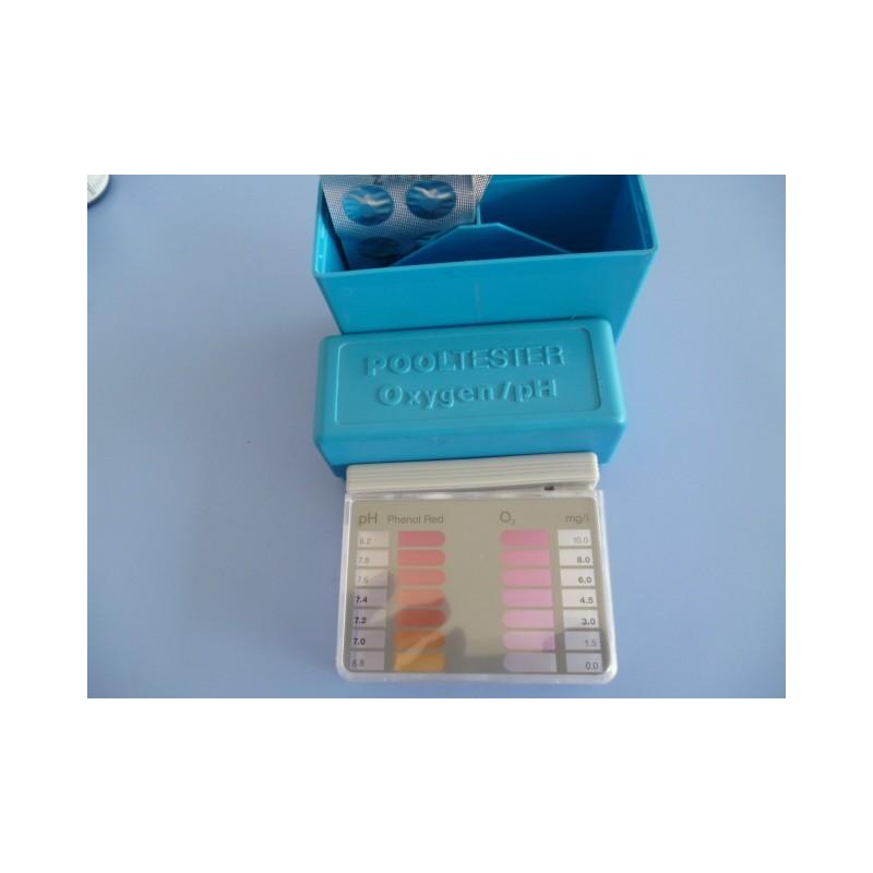 Tester analizador oxigeno activo persufato y ph for Oxigeno activo piscinas