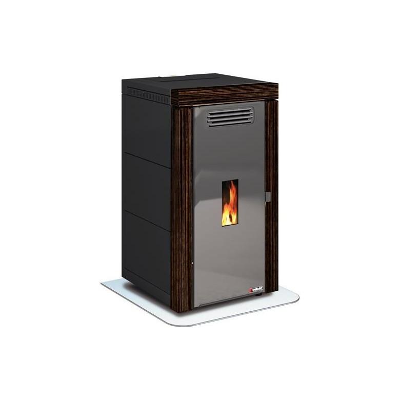 Estufa caldera biomasa pellet agua aire ungaro maia blend 24 kw ebano madera - Caldera pellets agua y calefaccion ...