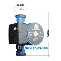 "HEATING CIRCULATOR PUMP GUT GHN 25/65-180  180MM X 1-1/2"""