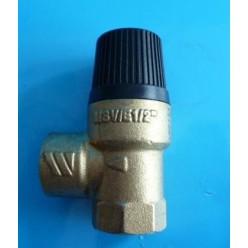 "SAFETY PRESSURE RELIEF VALVE MSV/E30 1/2"" 3 BAR 1/2"" H X 1/2"" H"