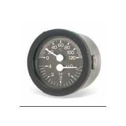 TERMOHIDROMETRO TI-52P Ø 52  0/120ºC 0/6 BAR  CAPILAR 1,5 M  14X1
