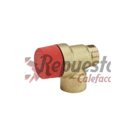 """VÁLVULA DE SEGURIDAD CALEFACCIÓN M-H 1/2"""""""