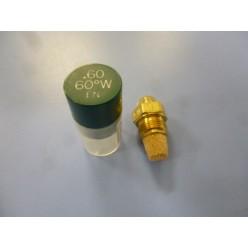 BOCAL DO QUEIMADOR DELAVAN 60º  0,6 GALONES ( BOQUILLA QUEIMADOR)