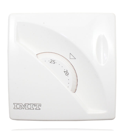 TERMOSTATO SIMPLE BLANCO DE RUEDA TA3 IMIT